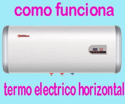 TERMO ELECTRICO HORIZONTAL