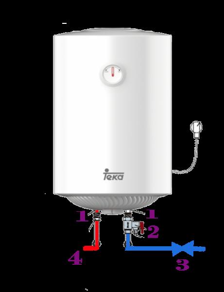 como se vacia el agua de un termo electrico