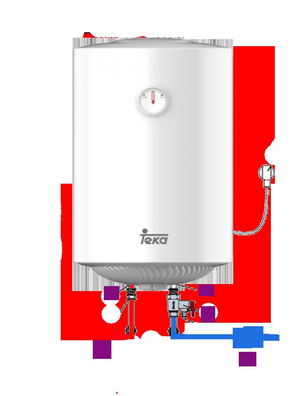 Como vaciar un termo eléctrico de agua caliente sanitaria