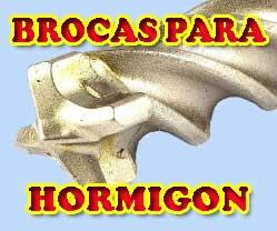 BROCAS PARA HORMIGON