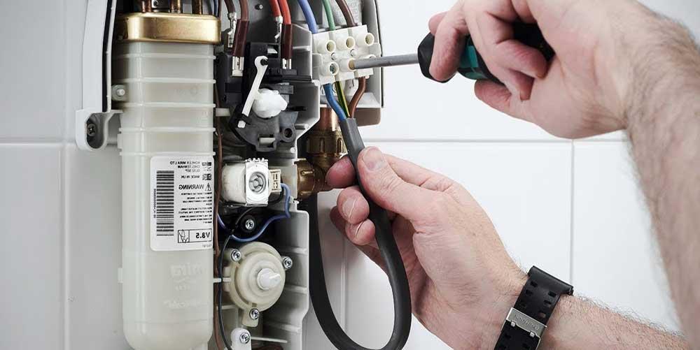 calentador de agua eléctrico para ducha como funciona