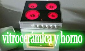 vitrocerámica y horno