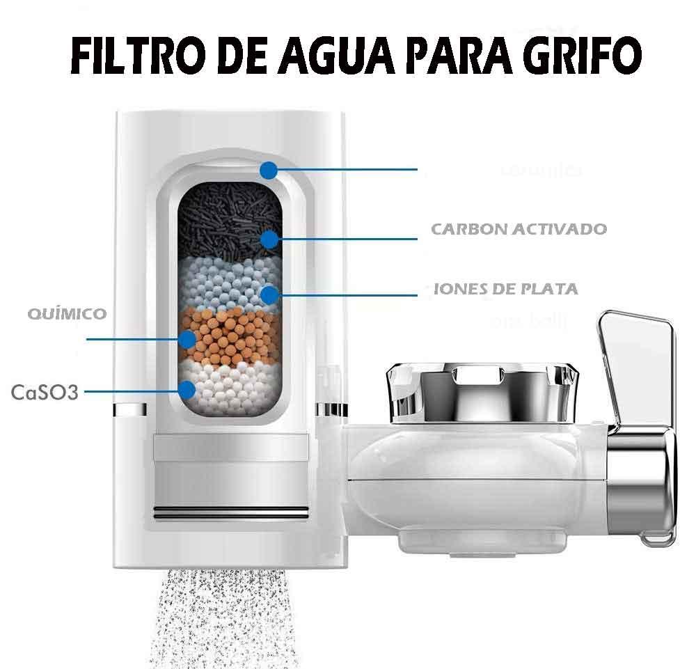 filtro de agua para grifo